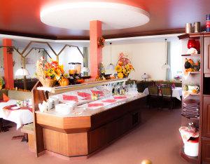 Restaurant Buffet-Tisch